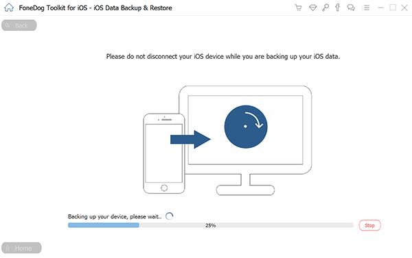 通過 FoneDog iOS 數據備份和恢復在 iPhone 和 Mac 之間同步聯繫人