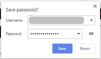 檢查設置以修復 Google 不保存密碼