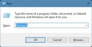 清理 TEMP 文件夾以修復 PowerPoint 編解碼器不可用