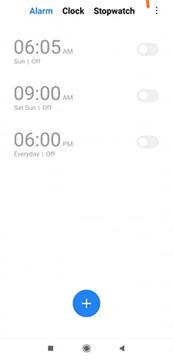 再次測試Android警報