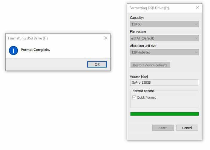 完整格式化SD卡