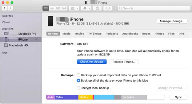 """更新iTunes以修復""""設備無法訪問""""錯誤"""