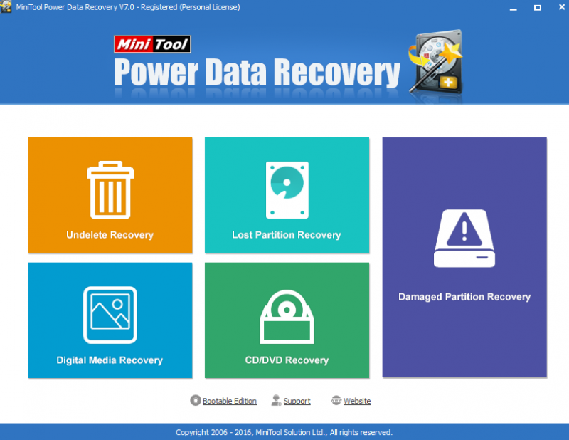 MiniTool Power Data Recovery可以用於SanDisk SD卡恢復