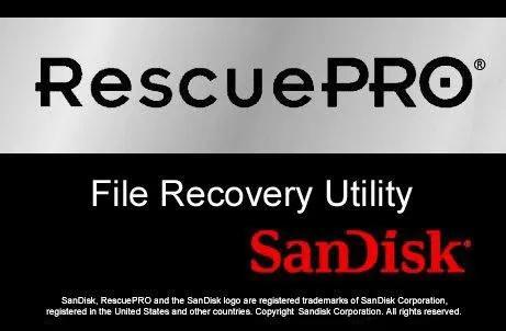SanDisk RescuePRO可以用於SanDisk SD卡恢復