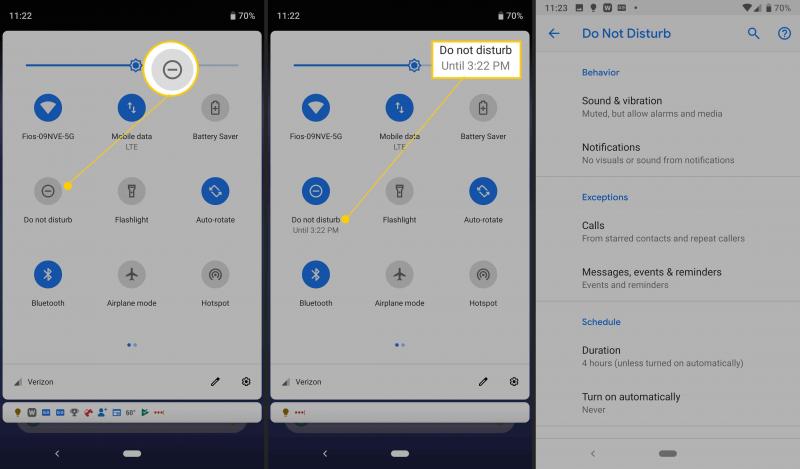 通過禁用請勿打擾模式修復更新後Android鬧鐘不起作用的問題