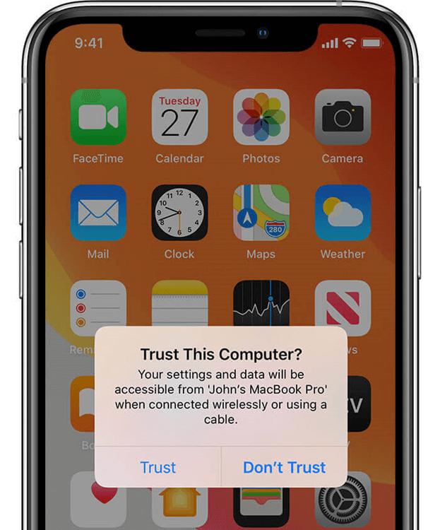 """信任計算機來修復""""設備無法訪問""""錯誤"""