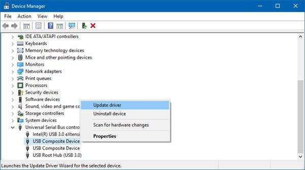 通過設備管理器更新 USB 驅動程序以在不格式化的情況下修復損壞的閃存驅動器